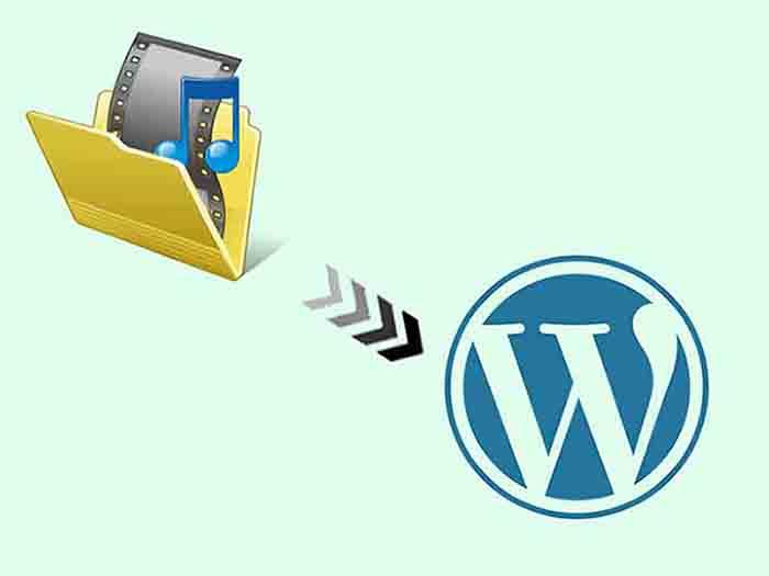 انتقال فایل به کتابخانه وردپرس از طریق ftp